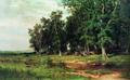 На покосе в дубовой роще - 1874 год