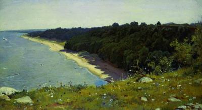 По берегу моря 1889
