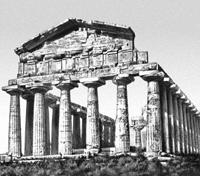 Храм Деметры в Пестуме. Середина VI в. до н.э.
