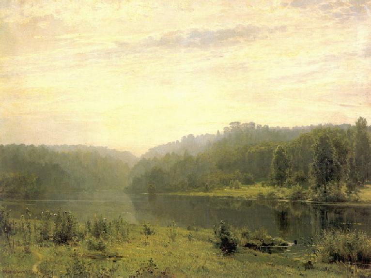 Туманное утро. 1885