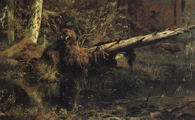 Лес (Шмецк близ Нарвы) 1888