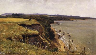 У берегов Финского залива (Удриас близ Нарвы) 1888