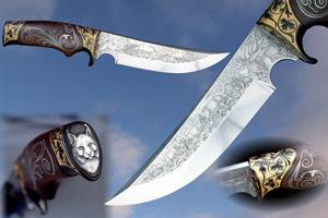 Гравировка на ножах