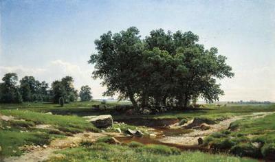 Дубки. 1886. Шишкин Иван Иванович