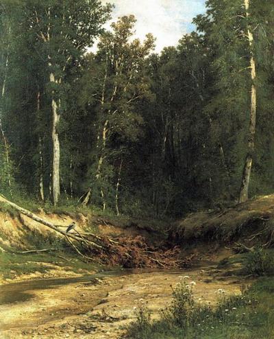 Лесной ручей (Чернолесье) 1874