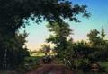 Вид в окрестностях Петербурга - 1856 год