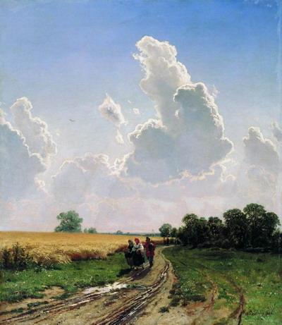 Полдень. Окрестности Москвы. Братцево 1866