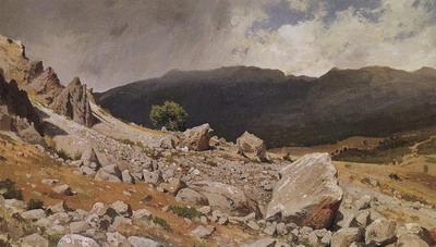 Из окрестностей Гурзуфа 1879