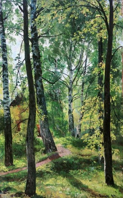 Лиственный лес. 1897