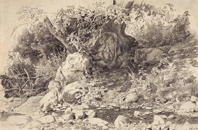 Ручей в Гурзуфе 1879