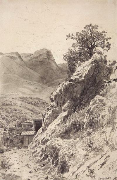 В горах Гурзуфа 1879