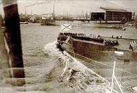 Спуск на воду линкора Гангут