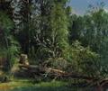 Срубленное дерево - 1875 год