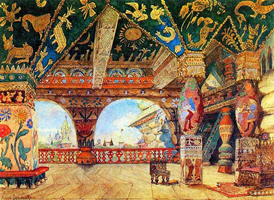 Палаты царя Берендея (В.М. Васнецов)