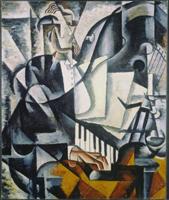 Пианист (Л.С. Попова. 1914 г.)