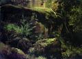 Камни в лесу. Валаам - 1859 год