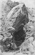 Пещера в Гурзуфе - 1879 год