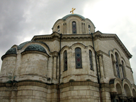 Алтарная абсида Владимирского собора. Севастополь