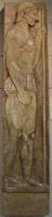 Аристокл. Стела Аристиона. Пентеллийский мрамор. Конец VI в. до н.э. Афины, Национальный музей