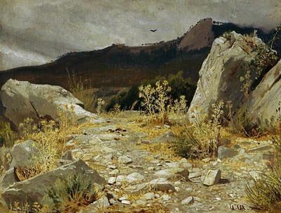 Горная дорожка. Крым 1879