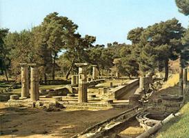 Храм Геры в Олимпии (Герайон). Кон. 7 - нач. 6 вв. до н.э.