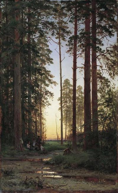 Опушка леса 1879