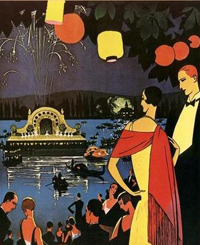 Обложка книги С.Фитцжеральда Ночь нежна 1920 г.