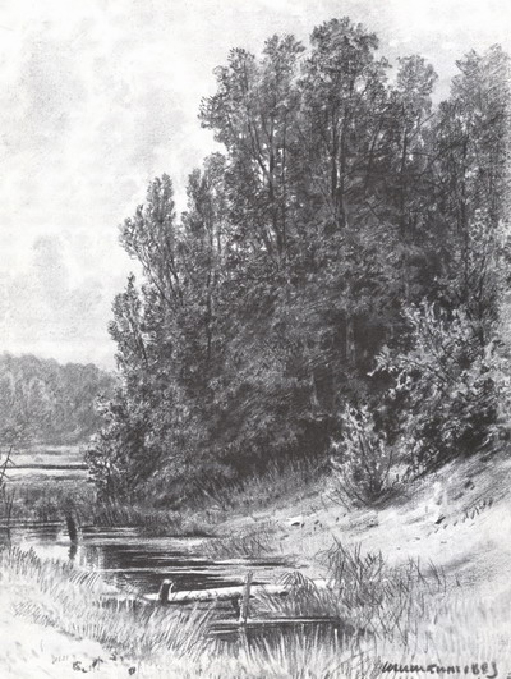 У ручья. 1883