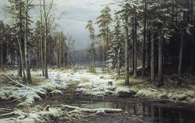 Первый снег 1875