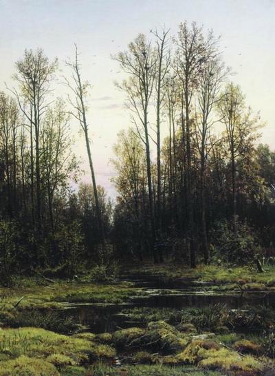 Лес весной 1884