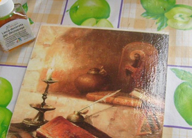 Использование шеллака в живописи