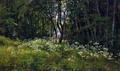 Цветы на опушке леса - 1893 год