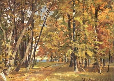 Ранняя осень 1889