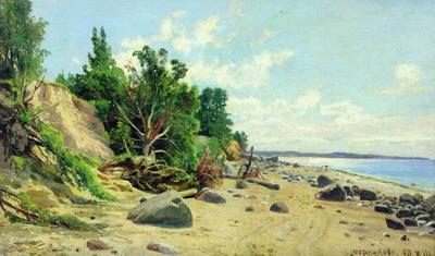 Берег моря 1890