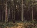 В лесу графини Мордвиновой. Петергоф - 1891 год