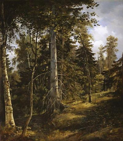 Лесная чаща 1867